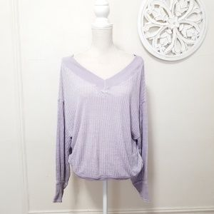 Free people size XS bat wing light weight sweater